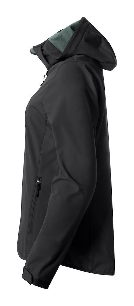 52e3410a84b Clique BASIC Softshell naiste jope, must - Clique - JAKID, FLIISID ...